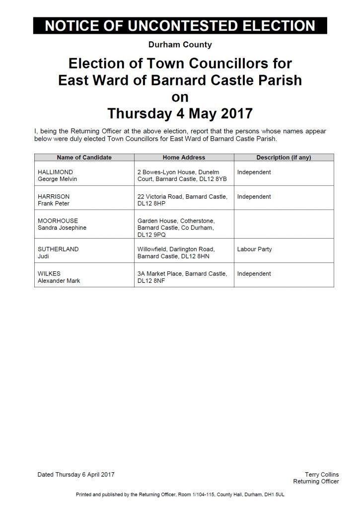 east-ward